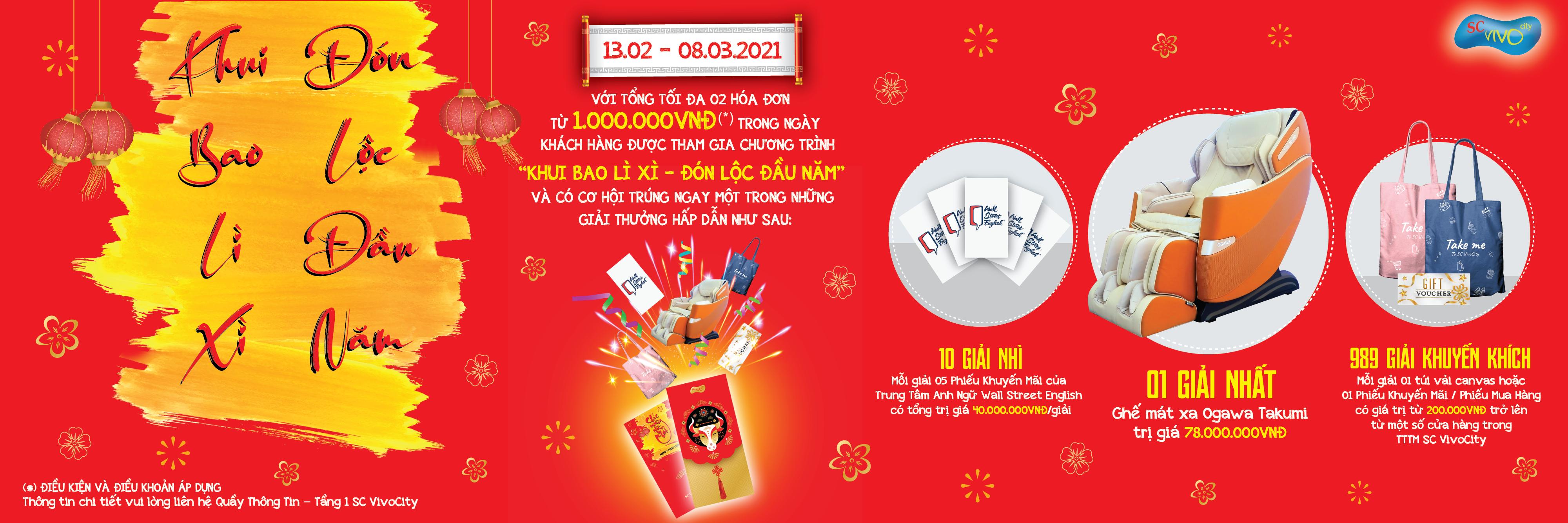 Tet 2021 - Promotion