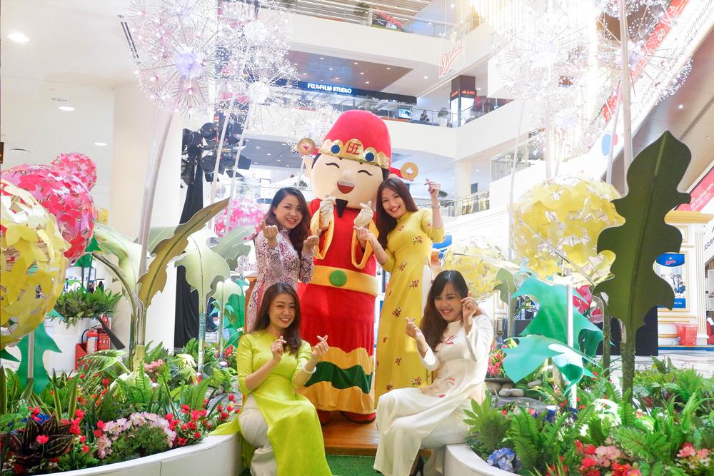 Đón Xuân Mậu Tuất với nhiều hoạt động giải trí đậm chất truyền thống tại SC VivoCity