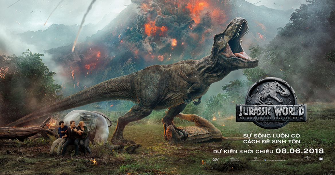 Exclusive events from Jurassic World: Fallen Kingdom