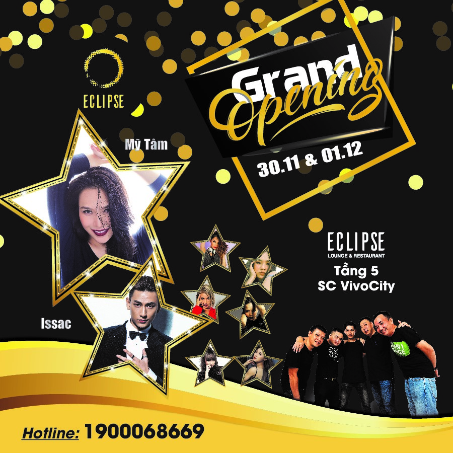 Grand Opening Eclipse Lounge & Restaurant