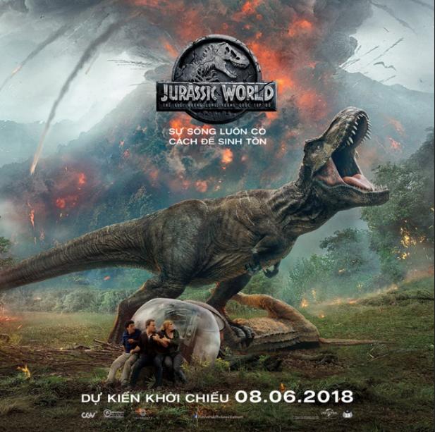 Chuỗi sự kiện độc quyền từ Jurassic World: Fallen Kingdom
