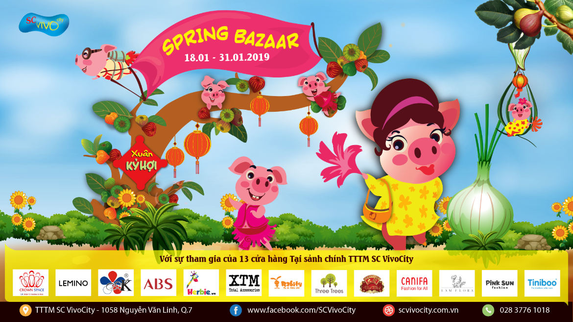 [SPRING BAZAAR] SHOPPING FOR TET WITH BIG PROMOTION