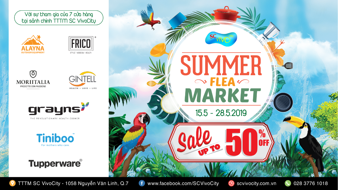 [SUMMER FLEA MARKET] PHASE 3: LIFESTYLE & HOME FURNISHINGS