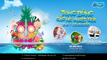 Welcome Summer with Tropical Colors at SC VivoCity