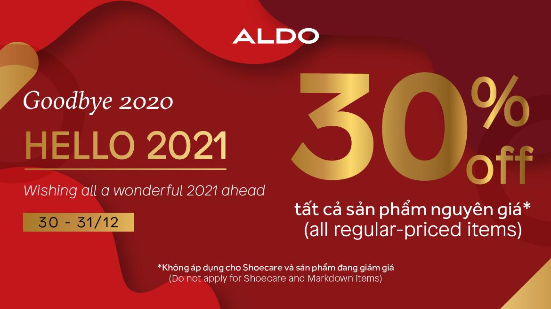ALDO  – SEND OUR BEST HELLO TO 2021!