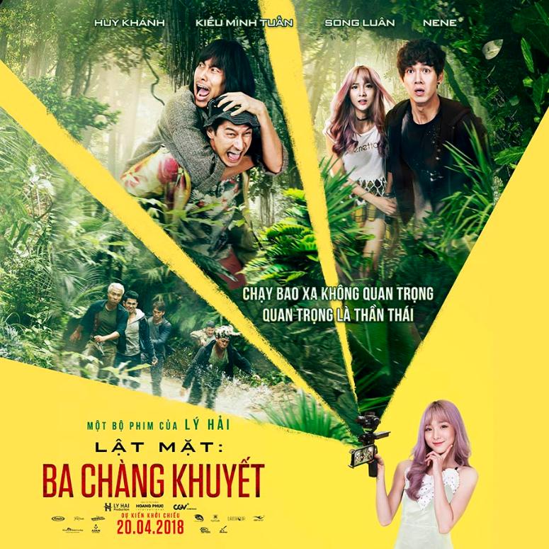 Ra mắt phim LẬT MẶT: BA CHÀNG KHUYẾT