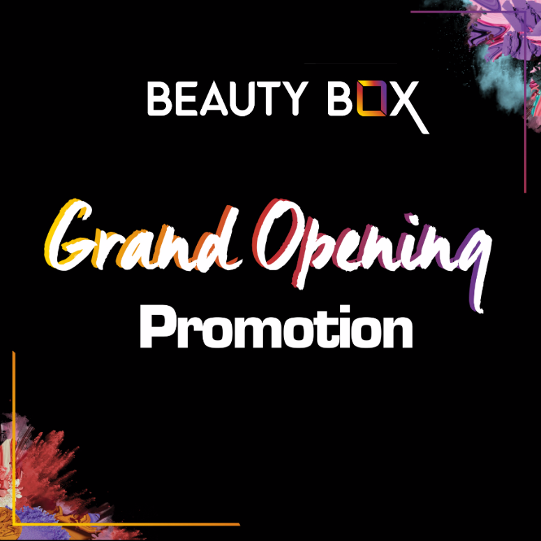 BEAUTY BOX - GRAND OPENING at ViVo City – 1/12/2018
