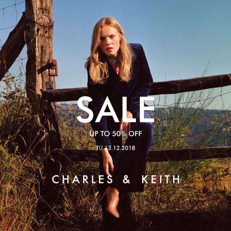 SALE CUỐI MÙA Up To 50% tại CHARLES & KEITH