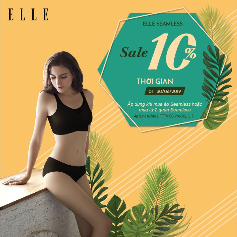 GET ELLE SEAMLESS AND ENJOY SUMMER!