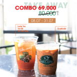 Combo 2 drinks just 69k