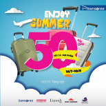 ENJOY SUMMER WITH SAMSONITE