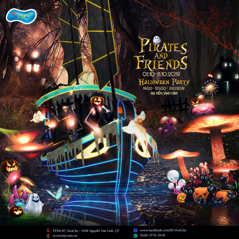 [HALLOWEEN 2019] PIRATES & FRIENDS