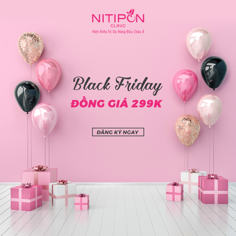 BLACK FRIDAY – FLAT SALE 299K