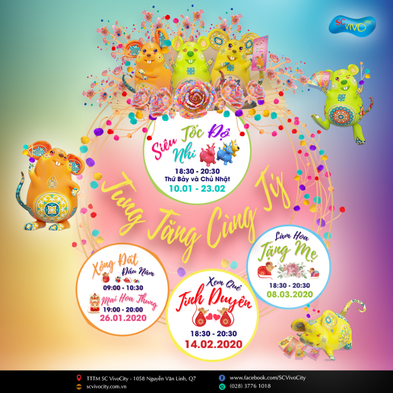 ENJOY TET WITH MANY EXCITING ACTIVITIES AT SC VivoCity
