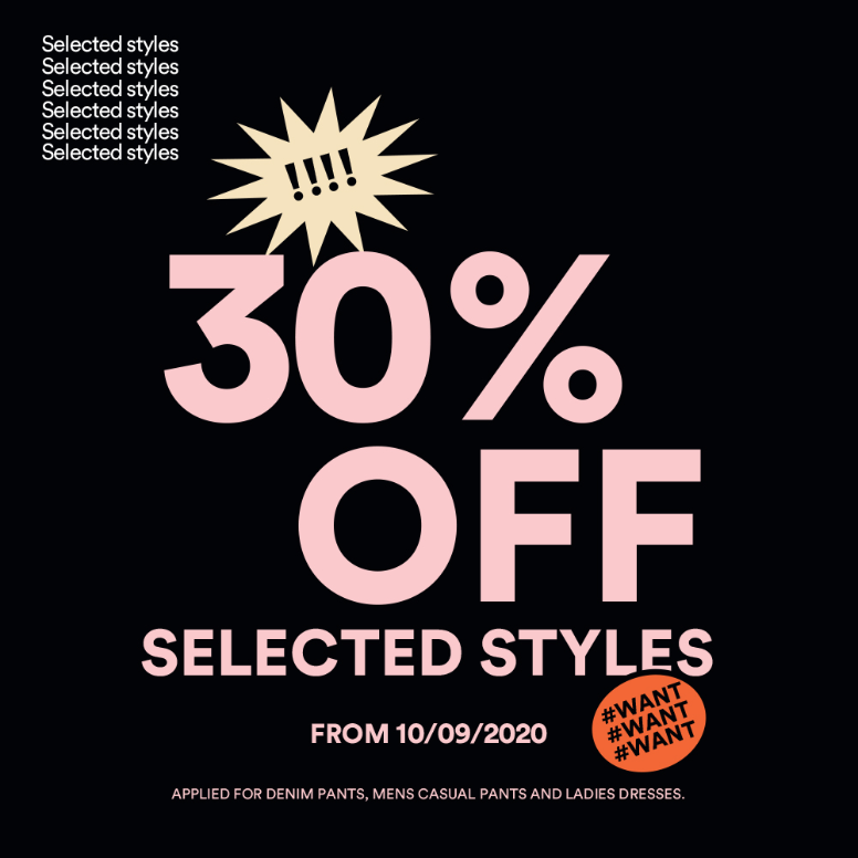 HOT SALE - 30% OFF