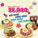 MENU WITH SAME PRIZE AT 55k