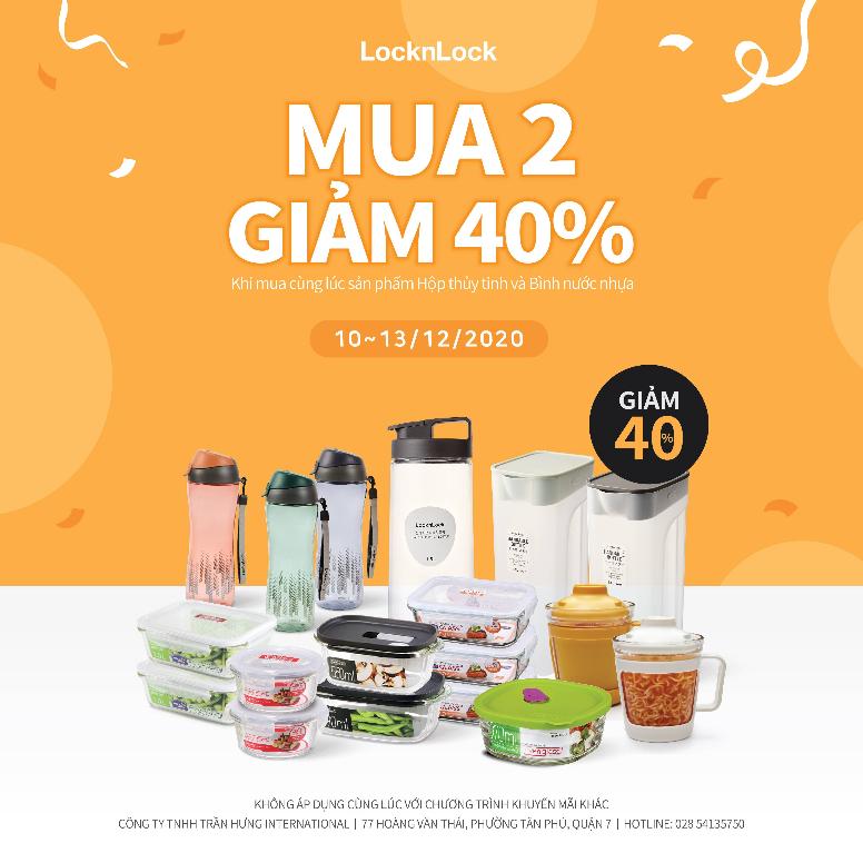 MUA 2 GIẢM 40% GLASS + AQUA