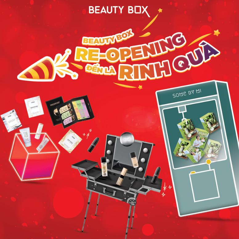 DỰ TIỆC BEAUTY BOX RE-OPENING – ĐẾN LÀ RINH QUÀ TẠI SC VivoCity