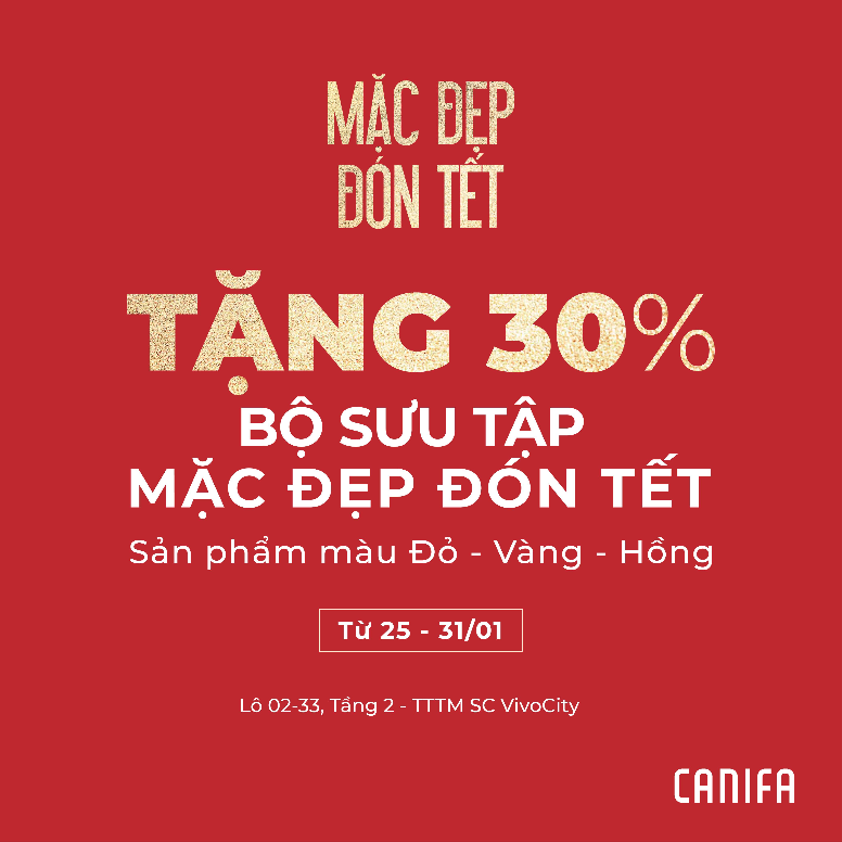 30% OFF MAC ĐEP DON TET COLLECTION